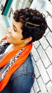 short hairhair straght on back curly on top 61 short hairstyles that black women can wear all year long