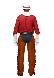 Pocahontas Halloween Costume Adults Size Rodeo Cowboy Costume
