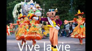 vive la vie disneyland paris music mickey u0027s halloween celebration