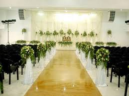 Church Decorations For Wedding Cabbon Wedding Planners