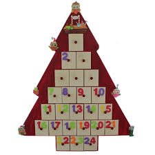christmas crafts diy christmas tree advent calendar the works