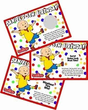 caillou party supplies caillou birthday card awesome caillou invitations 28 images caillou