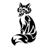 tribal fox 002 outlaw custom designs llc