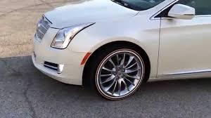 cadillac cts white wall tires 20 mustard mayo on a cadillac xts done by hogg customs