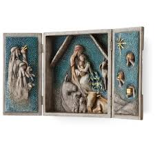 willow tree starry night nativity seasonal decor hallmark