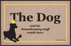Humorous Doormats Funny Doormats Dog And Housekeeping Staff Coco Mats N U0027 More