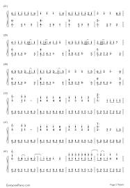 wedding dress chords piano wedding dress taeyang numbered musical notation preview 2 free