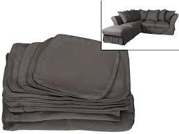 refaire coussin canapé refaire coussin canape housse fauteuil et canapac bi extensible