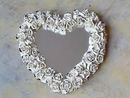 amazon com decoline new york handmade hand painted heart shaped