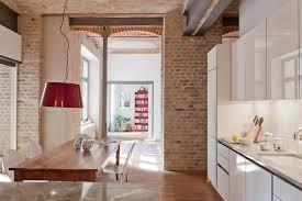 Briques Parement Interieur Blanc Accueil Design Et Mobilier Cuisine Brique Grise