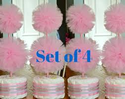 pink and silver baby shower pink and gold baby shower centerpieces cake topiary