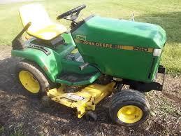 john deere 260 lawn garden tractor w 48 u2033 mower deck u0026 17hp
