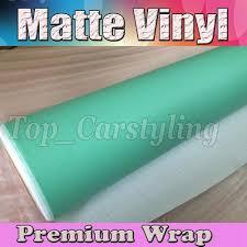 matte tiffany blue vinyl car wrap film with air release matt mint