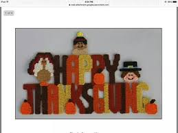 159 best thanksgiving images on plastic canvas