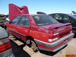 peugeot sedan 1989 peugeot 405 dl sedan junkyard find genho
