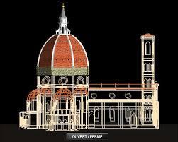 cupola santa fiore brunelleschi encyclop礬die larousse en ligne coupole italien cupola du bas