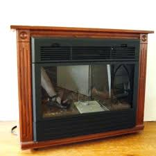 Amish Electric Fireplace Amish Fireplaces Electric Electric Heaters As Seen On Heat Surge