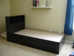queen bed with shelf headboard furniture perfect way to create a new look in your bedroom with