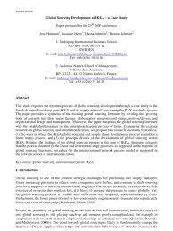 ikea case study procurement internationalization
