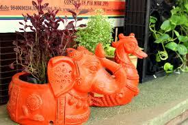 terracotta pots spaces