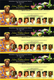edikanfo radio funeral thanksgiving ceremony