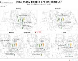 Lsu Campus Map This Is How Crowded Lsu U0027s Campus Will Get In Spring 2015 Web
