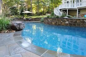 Lagoon Style Pool Designs by Johnson Pools Inground Custom Pool Designer U0026 Builder