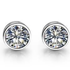 real diamond earrings for men test as real excellent earrings certificate 1ct diamond