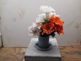 Flower Vase For Grave Eureka Cemetery U0026 Mausoleum Association
