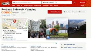 Max Map Portland by Yelp Review Gives Portland U0027s Homeless Camping Scene 5 Stars Kgw Com