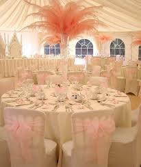 feather wedding decorations wedding corners