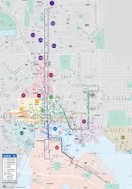 maryland mapa route maps charm city circulator