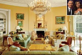 the obama white house inside the private quarters