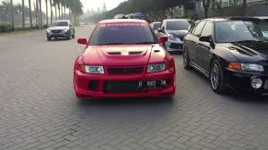 mitsubishi lancer gts jdm gt r owners club indonesia x jdm run youtube