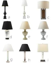 Buffet Lamps With Black Shades by Martha Moments Martha Stewart Lighting Glossary