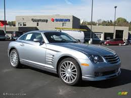 2005 sapphire silver blue metallic chrysler crossfire srt 6 coupe
