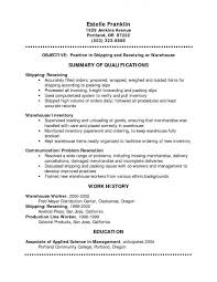 Sample Resume For Warehouse Worker by Uncategorized Sample Resume Warehouse Supervisor Latest Style Of