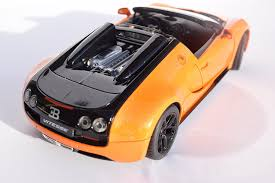 bugatti veyron key amazon com bugatti veyron 16 4 grand sport vitesse orange model