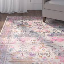 Light Pink Area Rugs Pink Rugs You Ll Wayfair