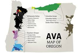 map of oregon wineries oregon wine region decanter