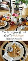 Beautiful Table Settings How To Make A Beautiful Table Setting For Halloween Up To Date