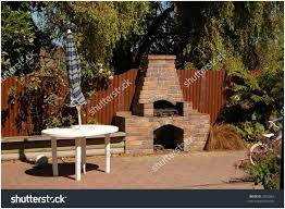 backyards bright old brick outdoor fireplace the great