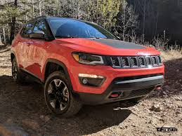 red jeep compass 2017 jeep compass trailhawk compass almost finds its true north