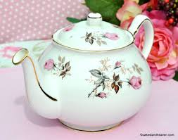 vintage china with pink roses teapot duchess vintage pink roses pattern