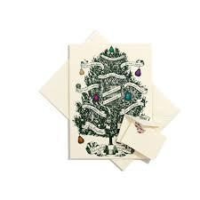 partridge in a pear tree grand statement card bernard maisner