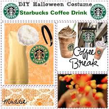 Coffee Halloween Costume Diy Halloween Costume Starbucks Coffee Drink Polyvore