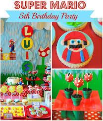 mario birthday party mario birthday party a to zebra celebrations