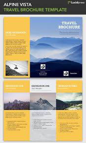travel brochure template made in lucidpress visual ly