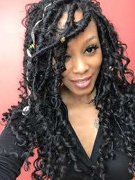 bohemian hairstyles for black women bohemian locs ig theheartshow sc beauty jasmine pintrest