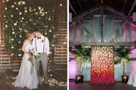 wedding backdrop flower wall wedding flower walls backdrops southbound